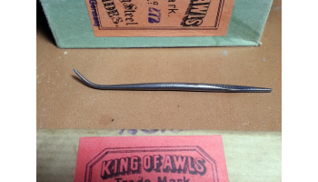 King Curved Awl Blade